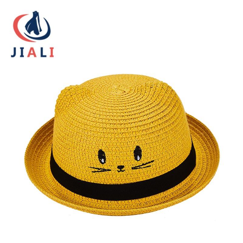 Children's straw hat