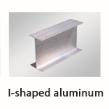 I-shaped aluminum