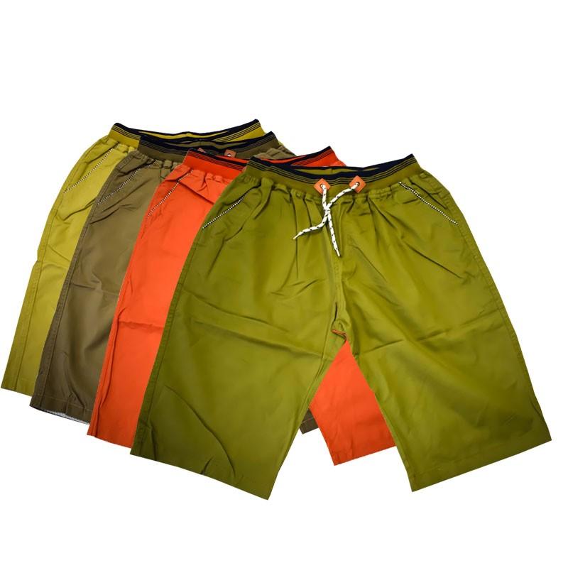 男式彩腰休闲沙滩裤