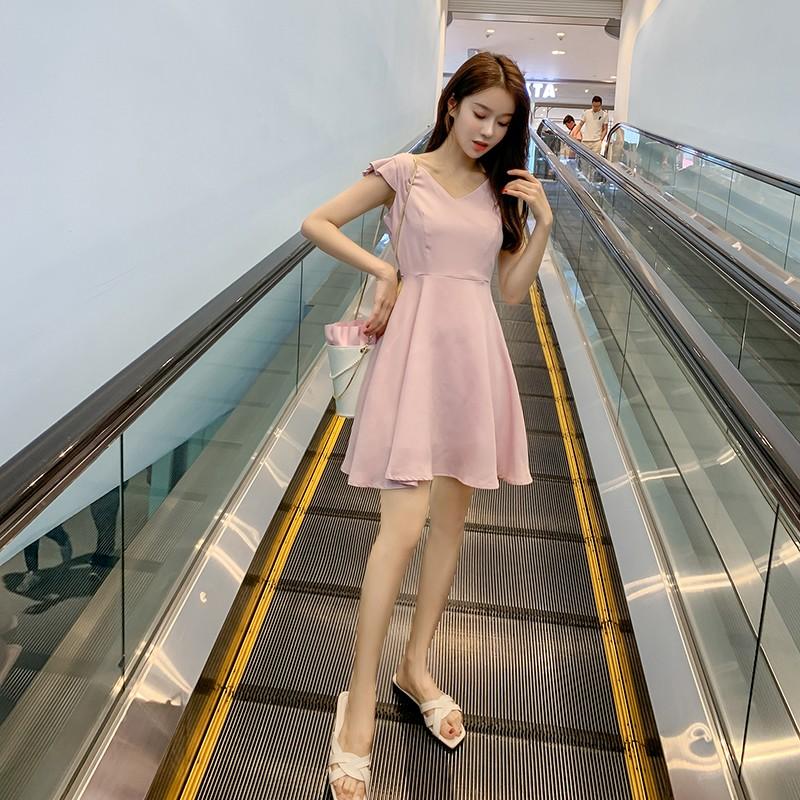 Slim and slim temperament vest skirt