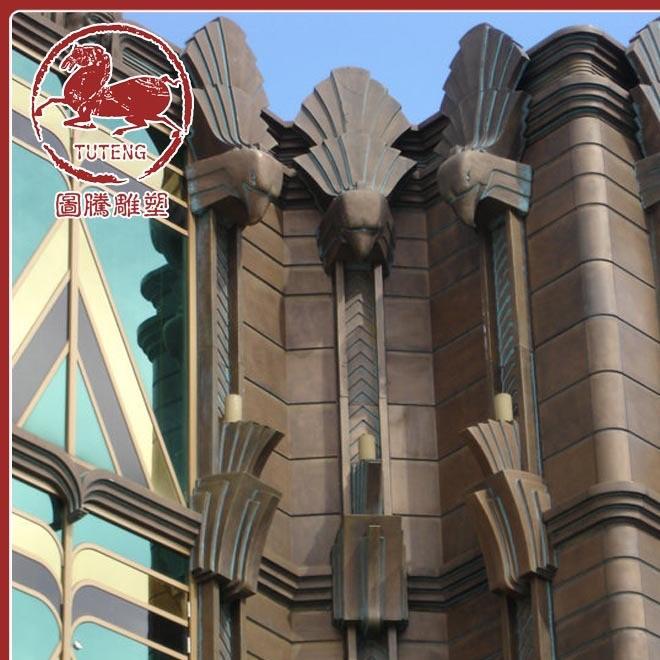 专业提供 大型楼盘雕塑 迎宾雕塑 澳门渔人码头室内外FRP雕塑