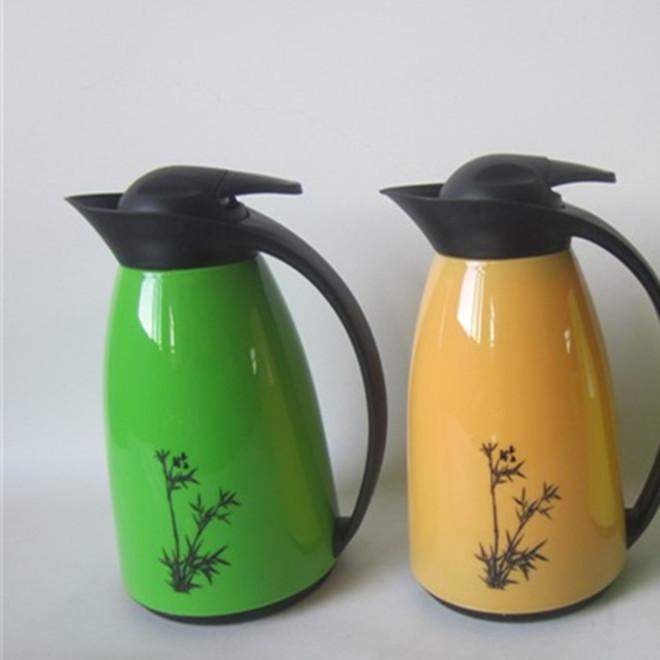 塑料真空保温壶1.0L企鹅咖啡壶 永康保温瓶批发 礼品壶订制