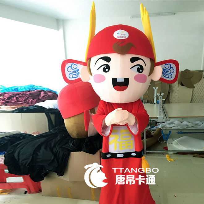 2108 new cartoon doll costume company annual meeting performance walking doll costume props