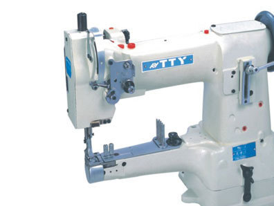 Ttty -335A high speed single needle integrated feeding cross - barrel sewing machine