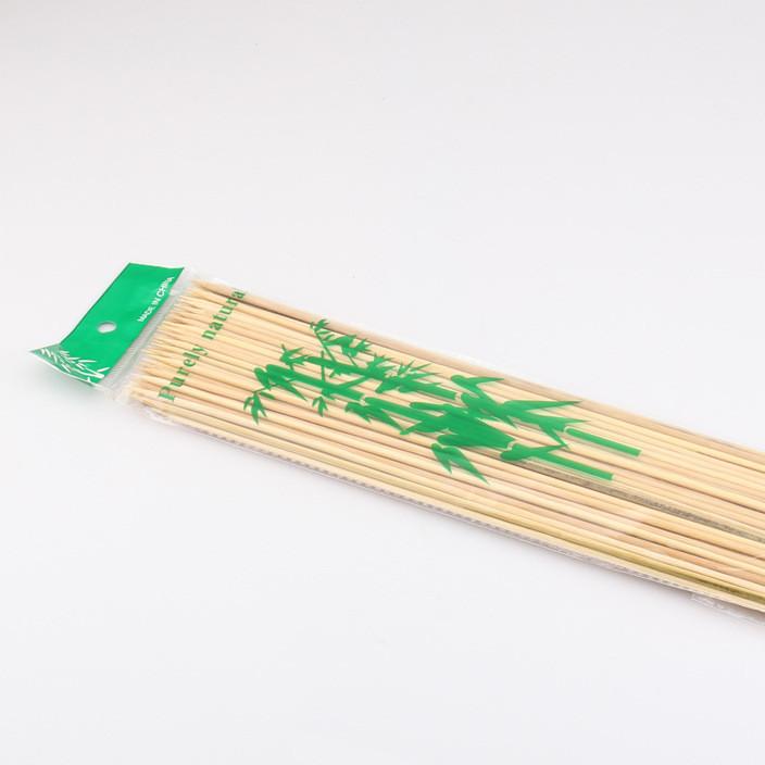 环保一次性烧烤用具 户外木炭烧烤工具 竹签烤针长30厘米 90支装