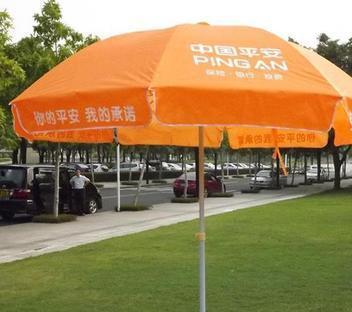 厂家批发 新款48寸双股太阳伞户外伞庭院遮阳广告伞可印刷logo