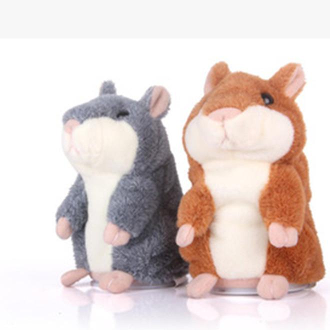 创意MIMICRY会说话的毛绒仓鼠 录音仓鼠玩具 儿童益智玩具