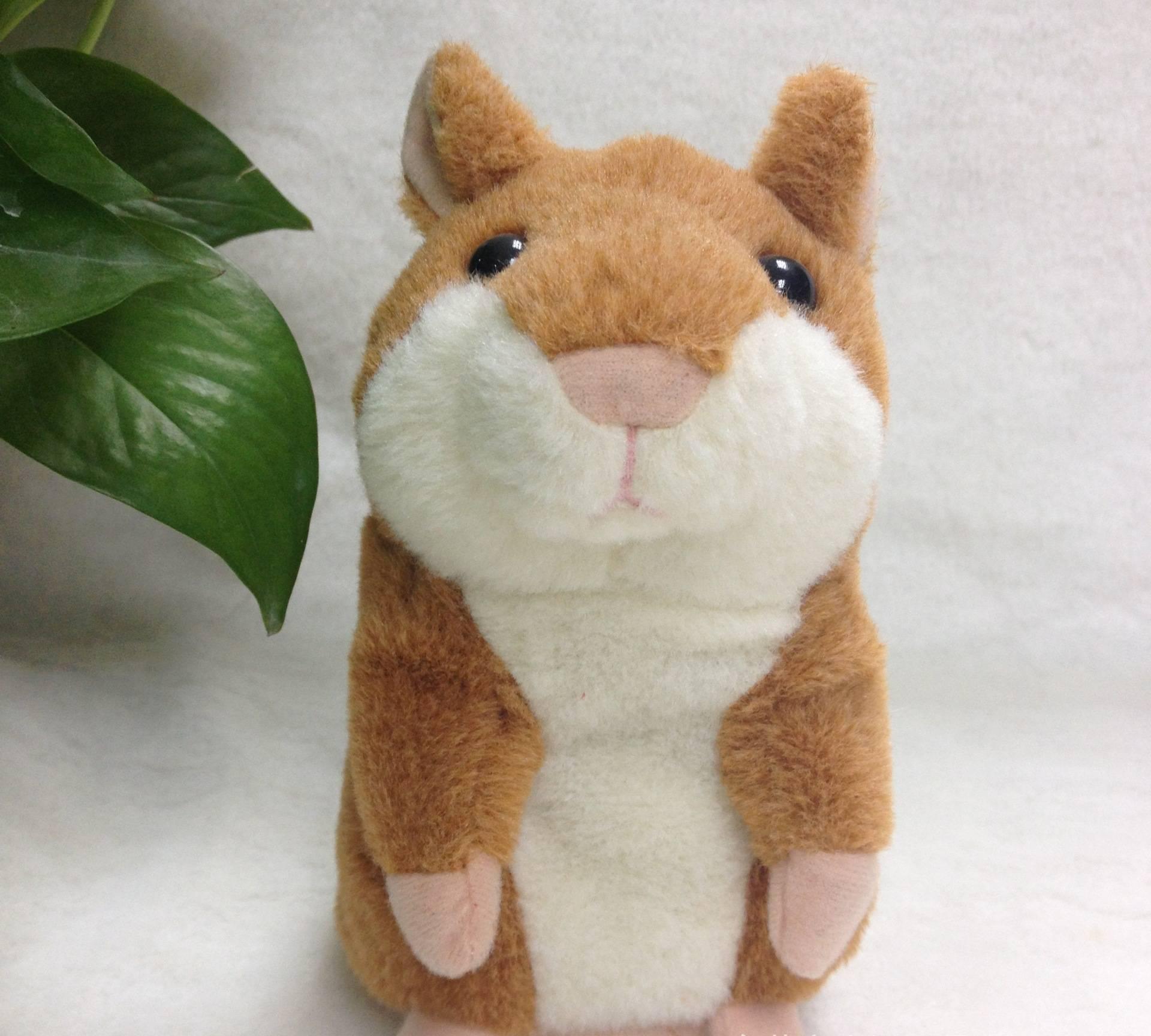 动物造型毛绒宠物鼠 舒适宠物周边用品毛绒鼠 可爱毛绒仓鼠玩具
