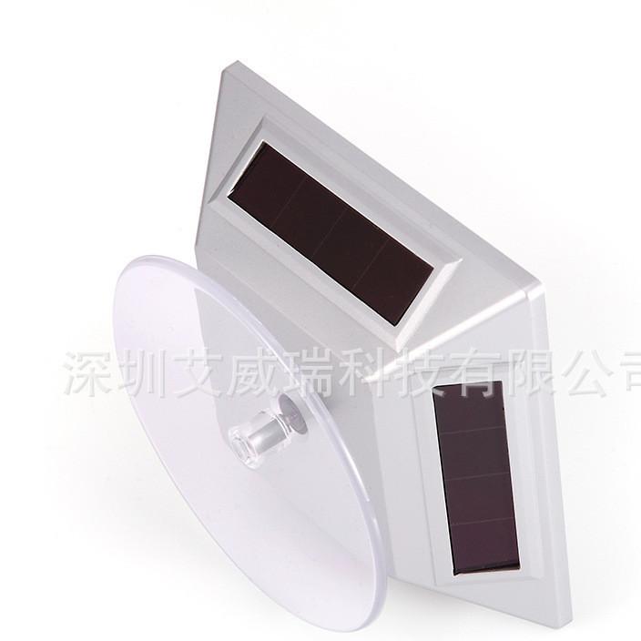 太阳能自动转盘展示架旋转台珠宝玉器核桃手玩件手链玉镯展示道具