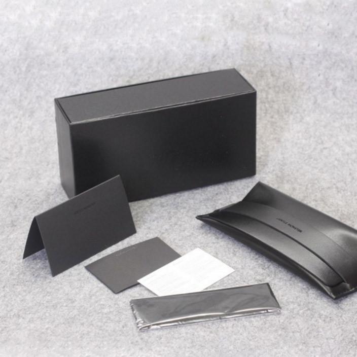 高档眼镜盒批发 韩国V盒太阳镜品牌眼镜盒 专柜眼镜盒