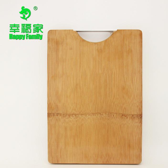 整竹工艺菜板竹制钻板环保天然切菜板酒店厨房工具可定制LOGO