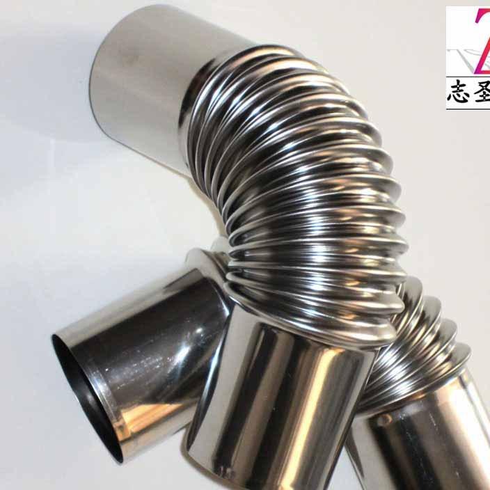 无锡供应 热水器烟管不锈钢弯头 材质201Φ60 燃气 热水器配件