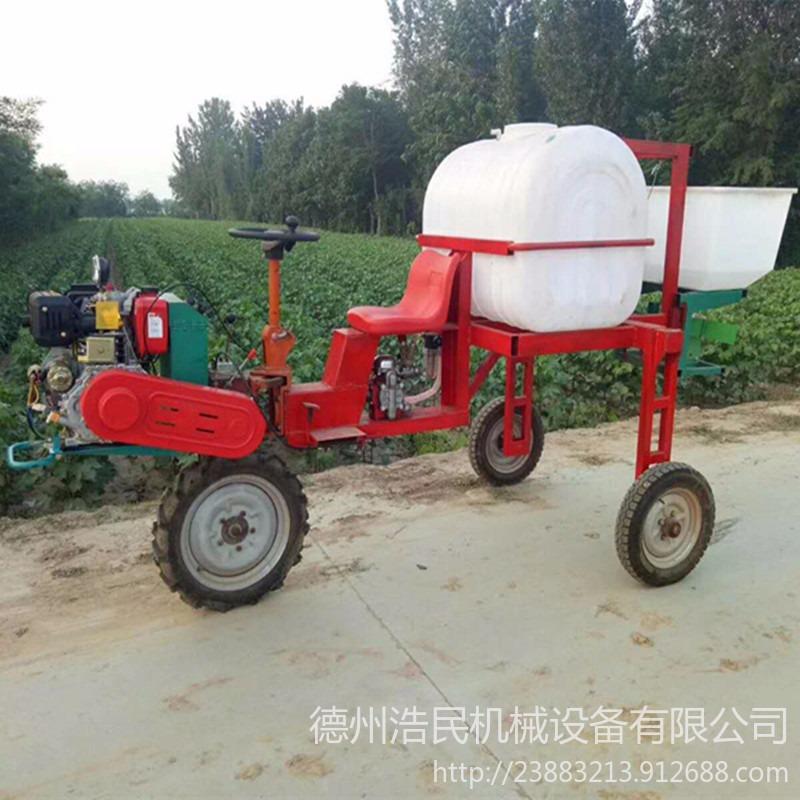 浩民机械生产自走式打药机 玉米小麦打药机 喷药机三 轮柴油动力马铃薯喷雾器