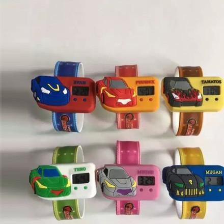 厂家直销爆款硅胶手表表带批发广告礼品促销赠品挂表表带可定做