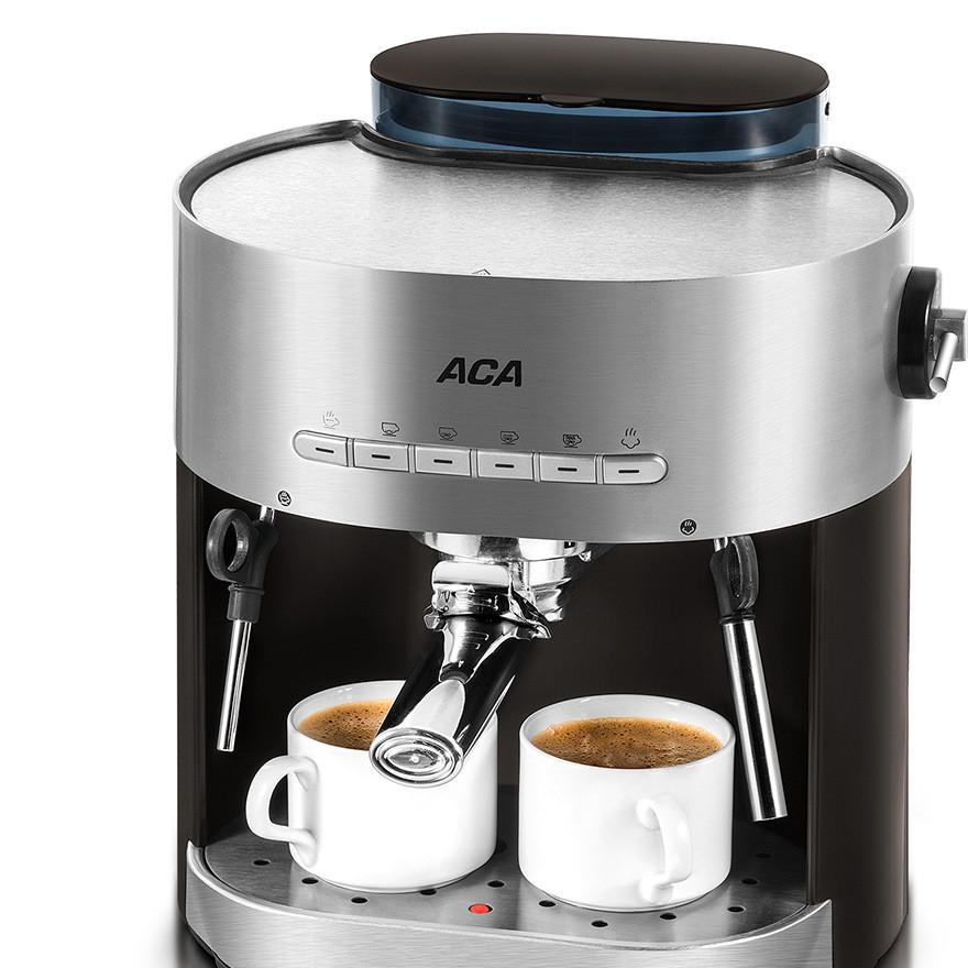ACA/ ac-e15b Italian coffee machine 15 pa pump semi-automatic fancy milk foam household commercial