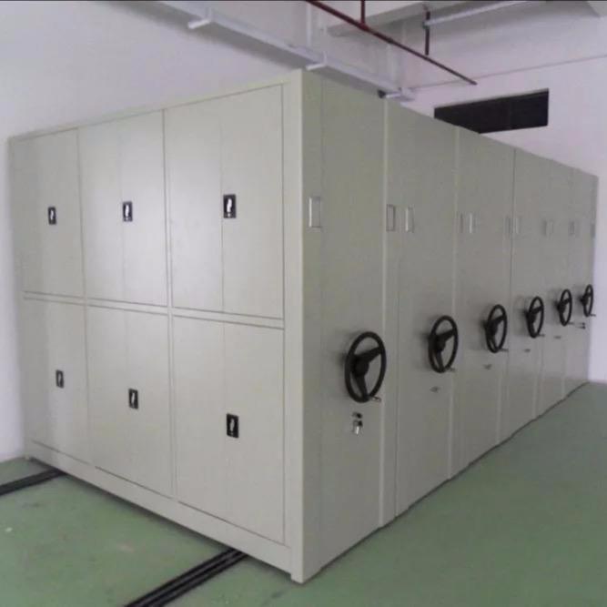 机械式密集柜,直列式密集架,箱式结构密集架,全封闭式密集柜按客户要求定制.