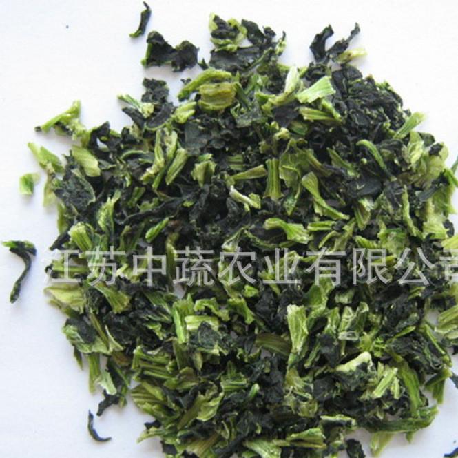 厂家生产供应内销品质脱水青梗菜 绿色 可供批发 或宠物食品等等