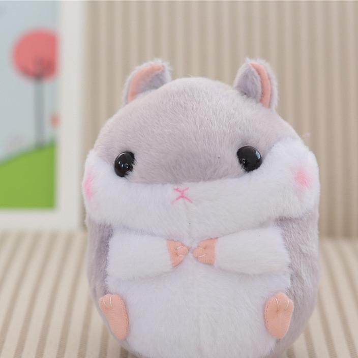 批发仓鼠毛绒公仔日本胖仓鼠玩具豚鼠田鼠儿童女生玩偶礼物