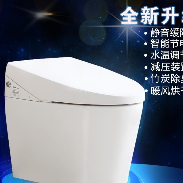 康禧 进口无水箱一体机即热式智能马桶显示屏遥控智能坐便器