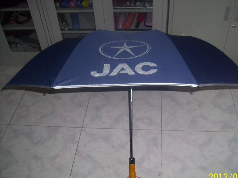 定制广告伞礼品伞二折双层伞高尔夫伞 创意个性广告伞定制LOGO
