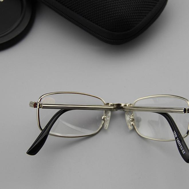 时尚可折叠老花镜老年款防疲劳老花镜高清眼镜老花镜 树脂超轻