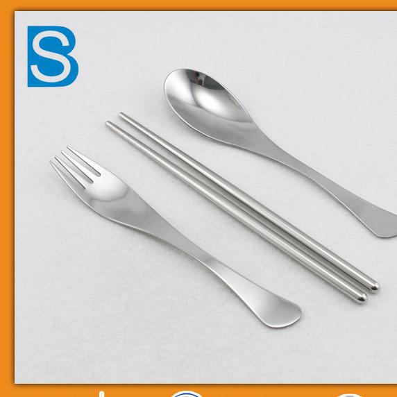 Baoshun manufacturers wholesale stainless steel tableware set fine tableware set western tableware set four sets of direct sales