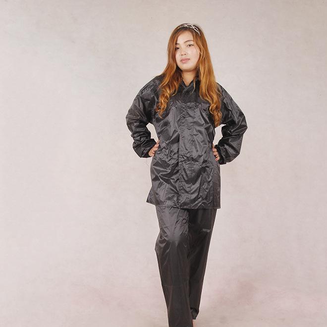 电动车分体雨衣 现货供应加厚分体成人制式雨衣 高档雨衣雨披