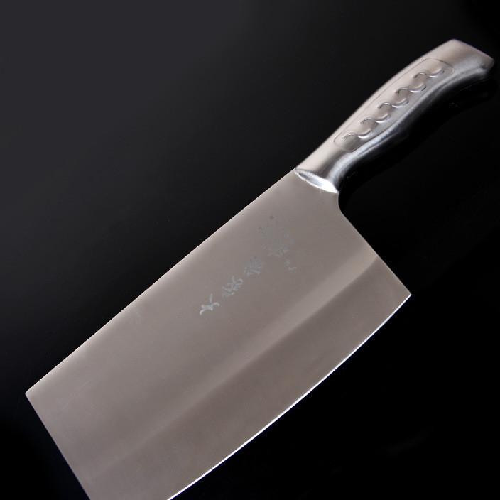 厂家直销不锈钢菜刀切片刀 厨房刀具 切菜刀砍切刀厨房单刀