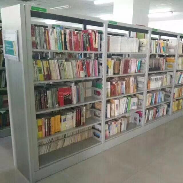 亚博单双面图书架,钢制图书架厂家,书籍室阅读室书架,最新款式一次成型设备生,专业品质。