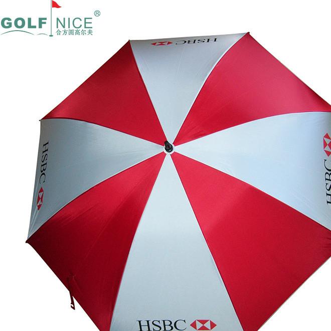 高尔夫伞定制logo30寸自动直杆伞超大单层伞全纤维女士雨伞