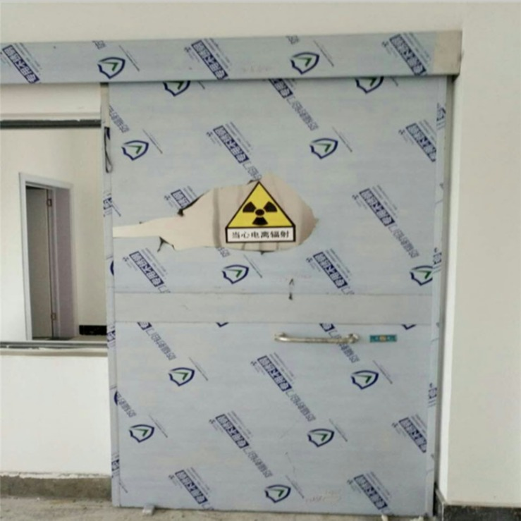 Lead door chongqing anti - radiation lead door electric lead door pet hospital special door supply jiexun anti - radiation materials manufacturers