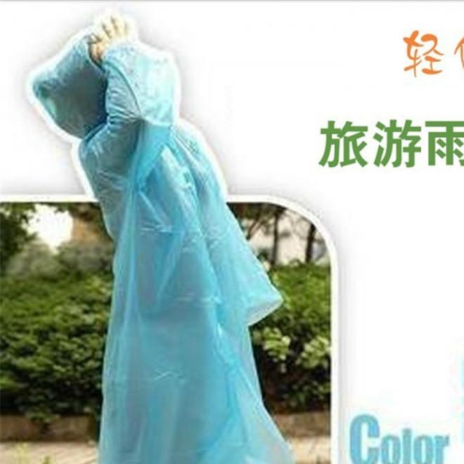 五一旅游出行创意全新加厚料一次性雨衣 雨具雨披批发T