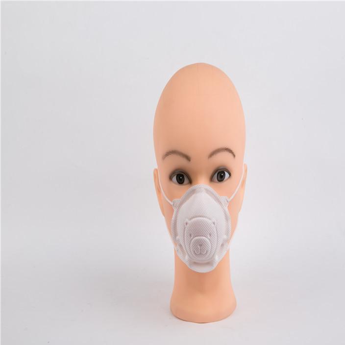 出口日本一次性儿童3D小熊无纺布口罩