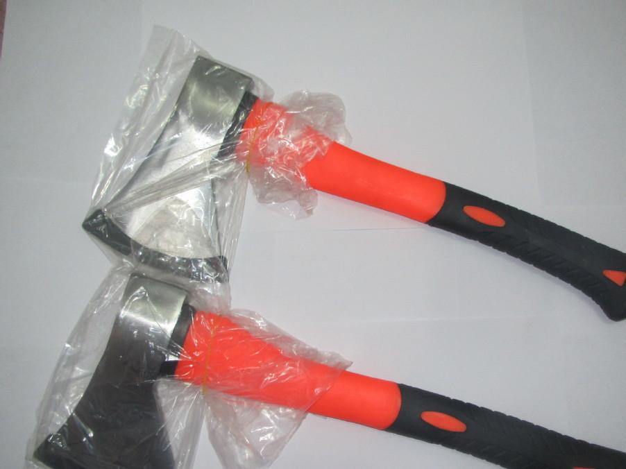 供应A613斧子 斧头 把斧 包塑柄斧子