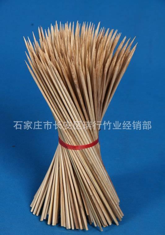 经销供应 一次性烧烤用具户外龙门烧烤竹签 各种串珠竹签烧烤签