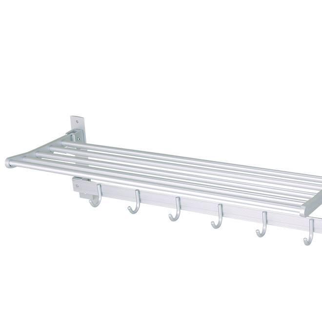 厂家生产 太空铝毛巾架折叠浴巾架 卫生间置物架 厨卫挂件 3106