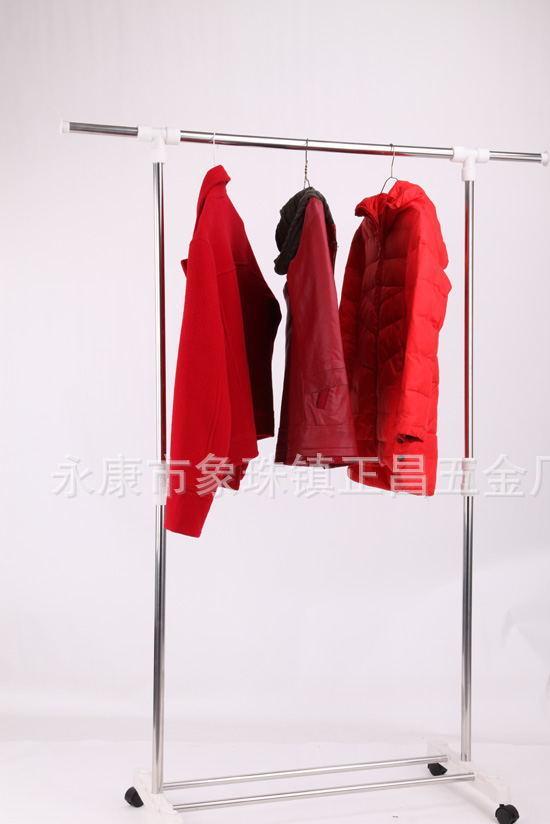 厂家直销供应落地双杆晾衣架 升降移动晾嗮架,晾衣架配件