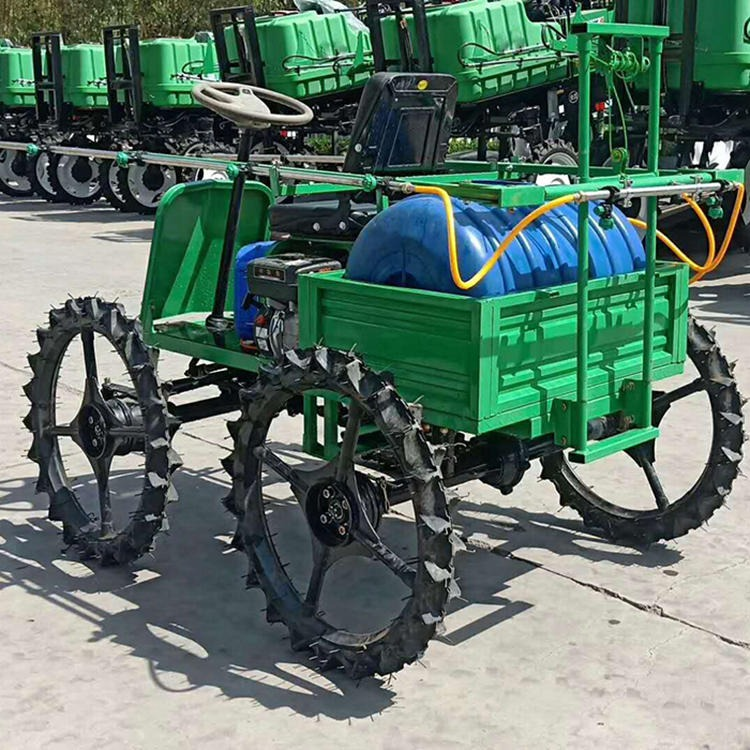 Small four - wheel gasoline spraying machine self-propelled spray rod spraying machine for agricultural riding spray machine spray rod self-propelled sprayer