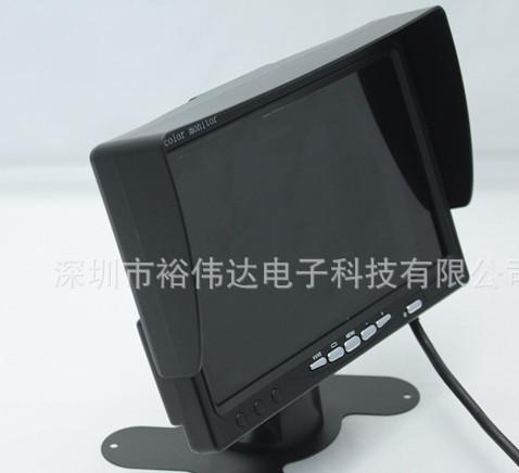 7寸大巴车公交车液晶显示器,支架台式显示器,车载监视器宽电压