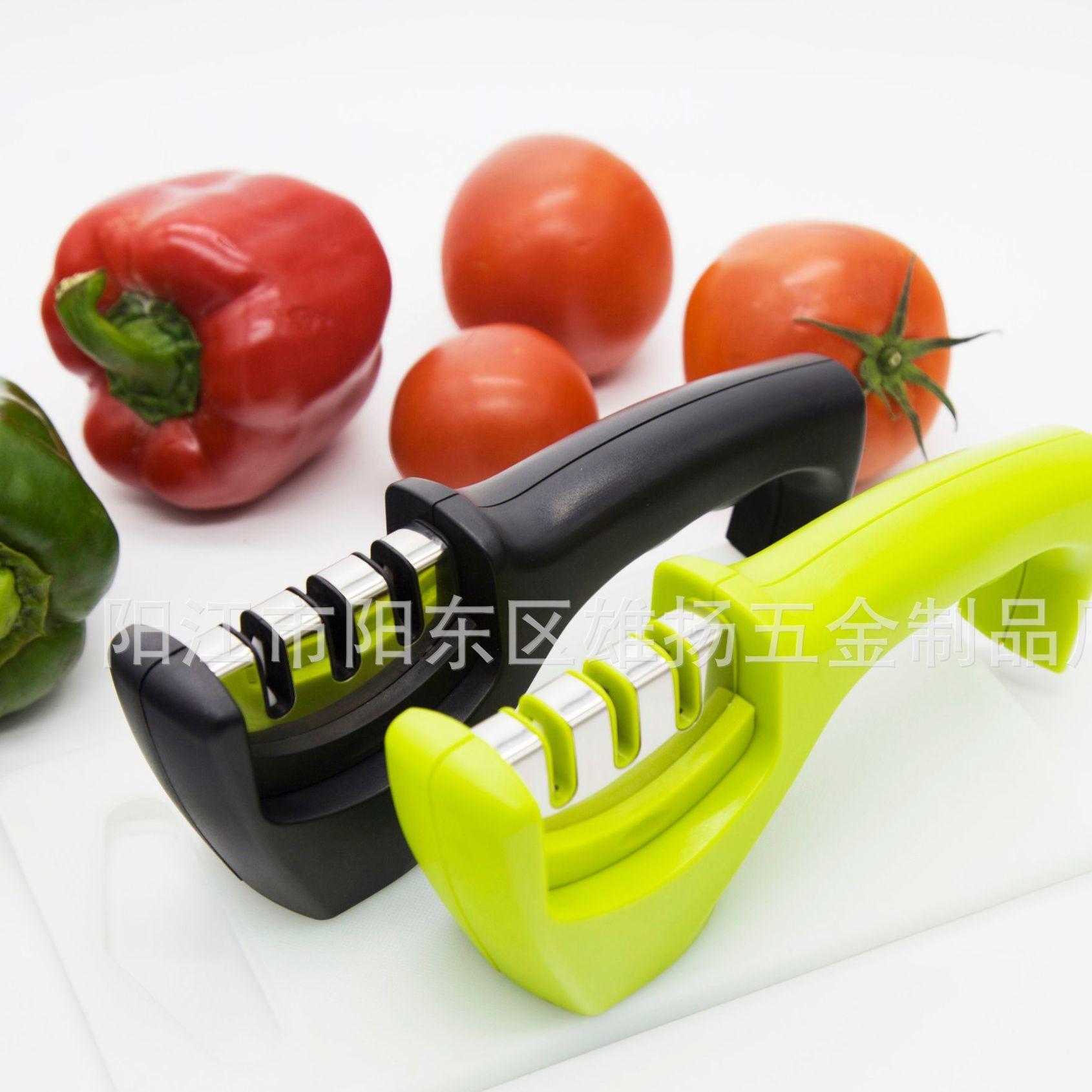 供应金刚石磨刀器磨刀石菜刀磨刀神器 厨房用品磨刀棒家用小工具