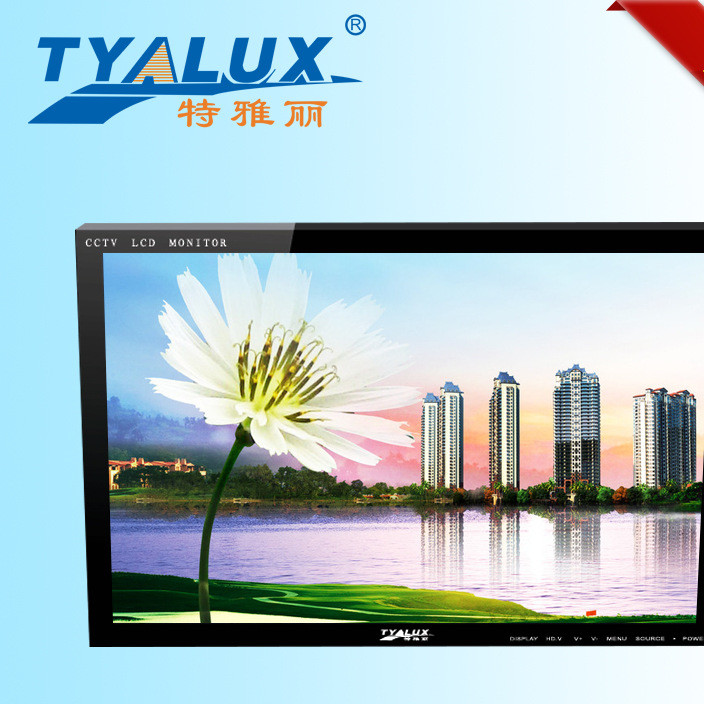 Telian security color monitor CRT LCD monitor can work for a long time in multiple sizes for selection of sources