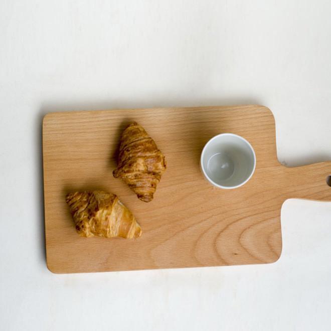 榉木整板无拼接创意切菜板砧板板披萨板 厨房用品竹木菜板