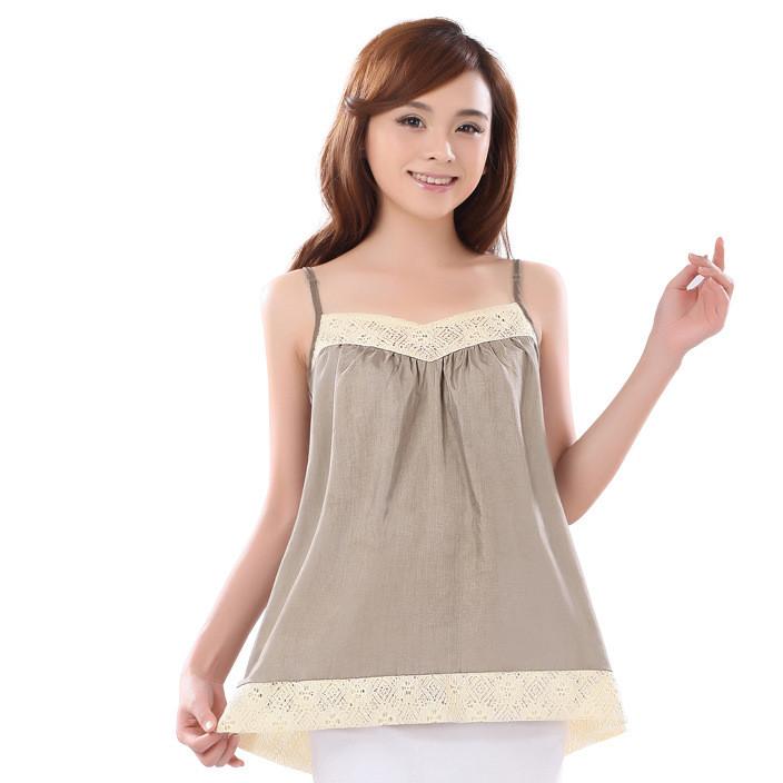 爱家防辐射孕妇装正品 银纤维防辐射吊带裙孕妇装 贴牌OEM 代发
