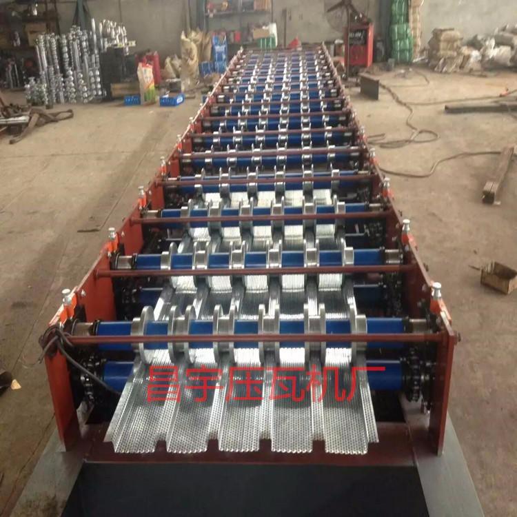 750型压瓦机 挡风抑尘彩钢压瓦机 彩钢设备厂家