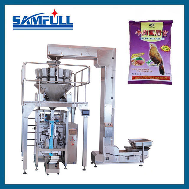 Manufacturers direct 420 pet grain automatic packaging machine pet grain packaging machine feed packaging machine