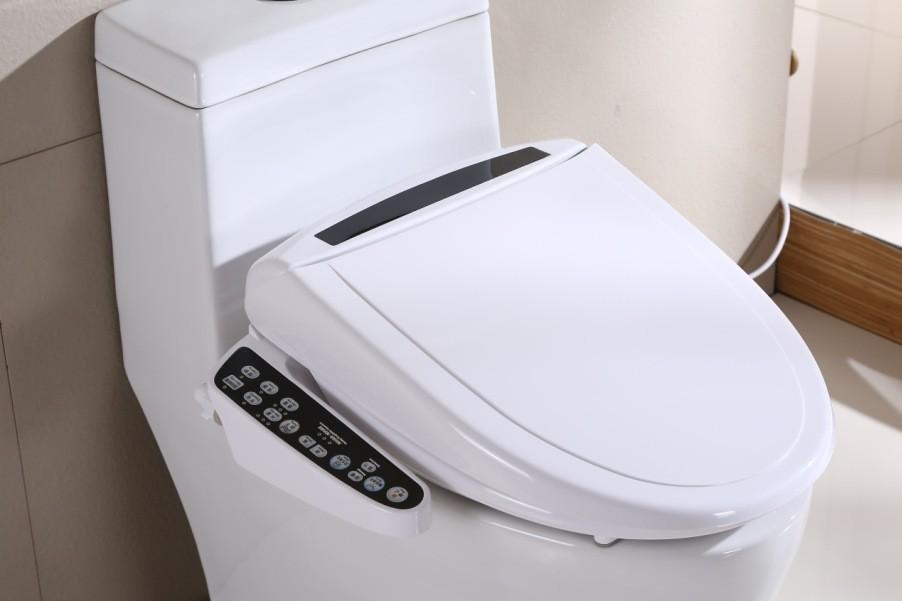 新款智能马桶盖盖板洁身器卫洗丽智能坐便器盖板烘干批发