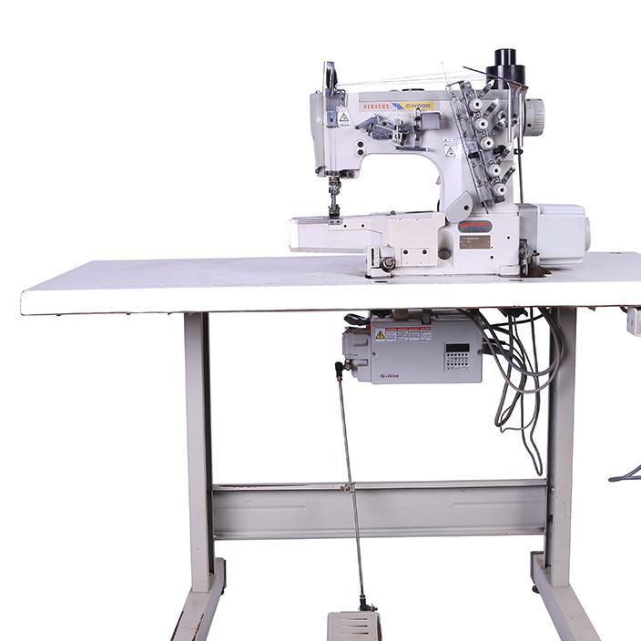 专业厂家直销 电脑直驱绷缝机二手飞马自动剪线小方头缝纫机 批发