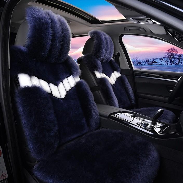 冬季 冬季汽车坐垫可爱时尚 汽车毛垫子 汽车羊毛座垫 车垫新款