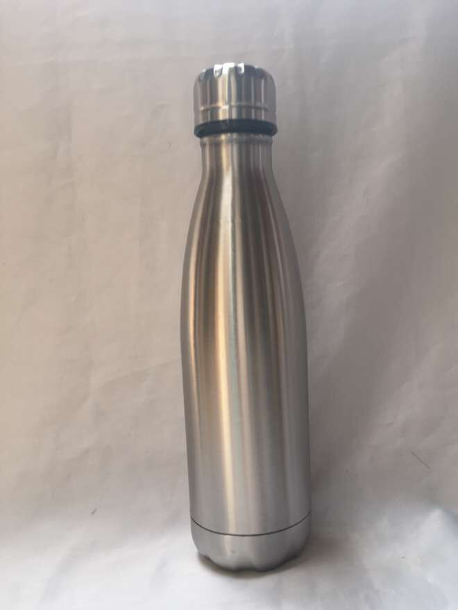 厂价直销350ML双层304不锈钢真空可乐瓶保温杯保温壶创意杯子