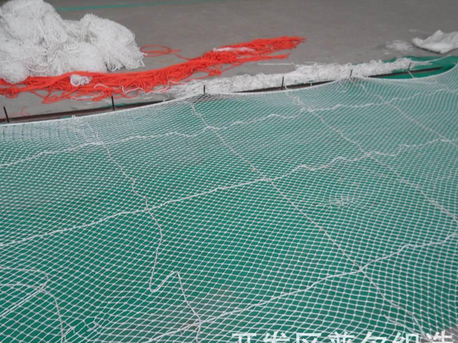 批发船用防护网,舷墙梯安全网 4m16m , 船用安全绳网,盖仓网。